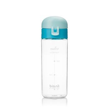 bianli倍乐Tritan健身大容量水杯弹盖直饮学生运动水壶450ml