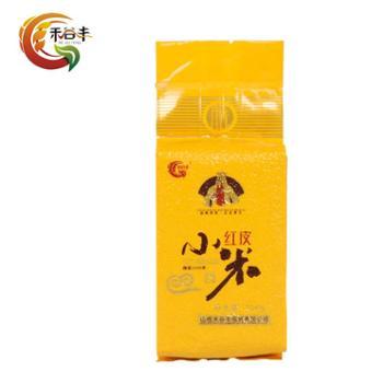 禾谷丰有机红皮小米塑料真空袋500g*2