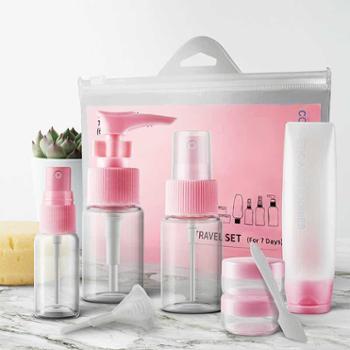 旅行套装化妆品分装瓶喷雾乳液小空瓶便携收纳套装出差旅游必备