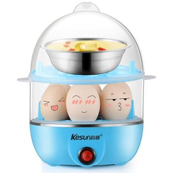科顺/KesunZD0002双层蒸蛋器防干烧蒸蛋机配蒸碗