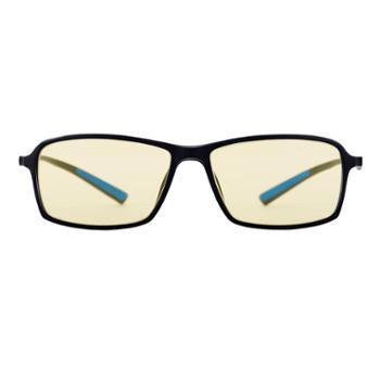 QRIC防辐射抗蓝光疲劳玩手机眼镜护目女看电脑保护眼睛男无度数Q玩45%阻隔率(黑色)