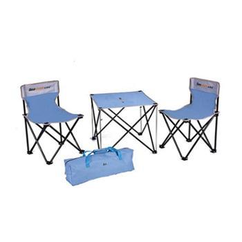 纵贯线(seashore)休闲椅四件套*1+多功能玲珑毯*1休闲套装HX-02
