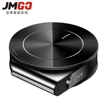坚果(JmGO)微型投影仪T9家用高清办公家庭影院智能迷你小型便携式投影机无线手机同屏