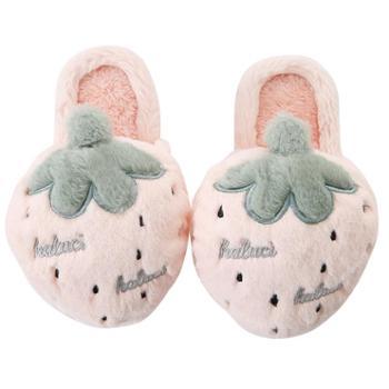 棉拖鞋女冬新款室内可爱居家毛绒包根家用厚底卡通保暖拖鞋