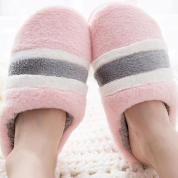 棉拖鞋女半包跟秋冬室内软底居家居保暖情侣毛毛棉拖鞋男秋冬大码