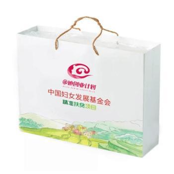 云南红河中国妇基会哈尼红米400g*6块礼盒装