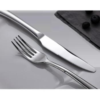 onlycook 刀叉套装 不锈钢 牛排刀叉勺 套送礼 高档西餐餐具