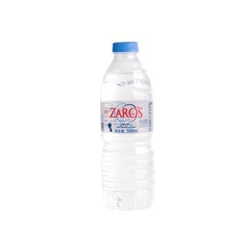 希腊进口 ZARO'S扎露斯饮用天然水 500ml*24瓶/箱