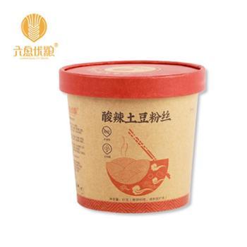 宁夏黄土地六盘优粮酸辣粉97G*6桶