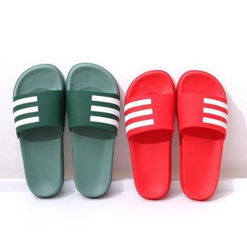 E-1无味环保男女钢琴键室内外情侣居家夏季凉拖鞋 防滑托鞋
