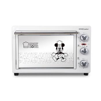 荣事达 RK-22B电烤箱家用烘焙多功能上下控温烘烤箱22L
