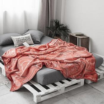 极云 双层加厚复合云毯 秋冬加厚多功能复合毯 双层毛毯居家办公午休毯子