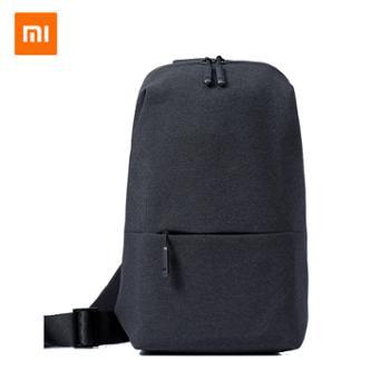 小米胸包男士单肩包斜跨包男斜挎多功能实用迷你运动腰包手提包