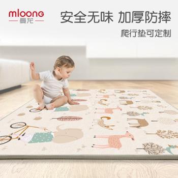 曼龙宝宝爬行垫加厚无味xpe婴儿泡沫客厅游戏地垫家用儿童爬爬垫