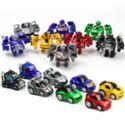 变形玩具金刚Q版包邮迷你小车迷你变形汽车人口袋玩具
