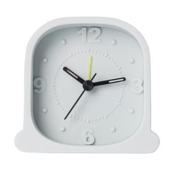 佐敦朱迪静音闹钟时尚硅胶座钟创意简约卧室床头多功能电子时钟