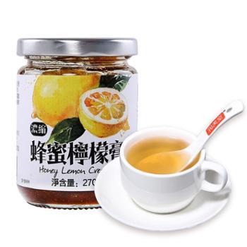 润美堂老冰糖蜂蜜柠檬膏纯手工零添加自制冲饮茶