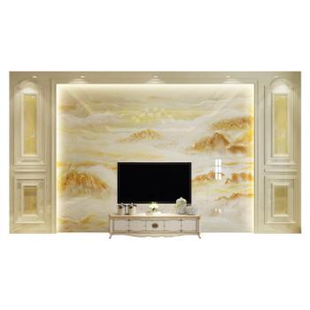 微晶石电视背景墙瓷砖客厅欧式大理石影视墙800*800
