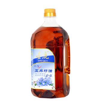 金鹿1800ML熟榨亚麻籽油