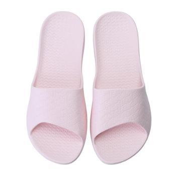 夏季居家男女情侣款防滑四季家用浴室洗澡塑料软底轻便外穿凉拖鞋1双