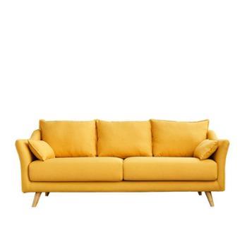 北欧家具单人布艺小沙发床卧室客厅小户型三人双人经济型现代简约