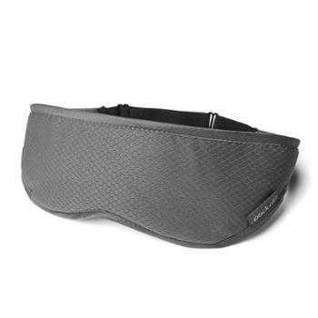 美国packall眼罩男女通用旅行飞机火车睡眠遮光透气可调节睡觉助眠护眼眼罩灰色