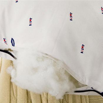 洁帛健康减压枕纤维枕护颈枕两只装
