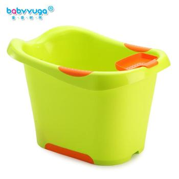 婴儿洗澡盆大号婴儿浴盆加厚儿童洗澡桶宝宝沐浴桶可坐