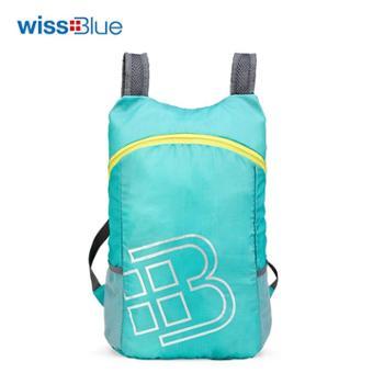 维仕蓝倾风轻量折叠背包