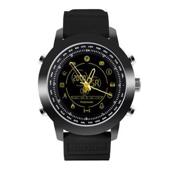 纽曼(Newmine)DX18蓝牙智能手环运动男士时尚商务防水手表太空黑