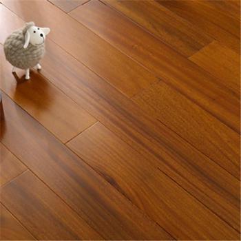 斯沛泽纯实木地板非洲圆盘豆原木910*105*18mm