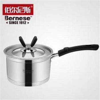 伯尔尼斯BERNESE 复合底加厚不锈钢 德厨系列 奶锅 通用电磁炉专用 BENS-240