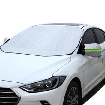 通用冬季汽车雪挡防霜防冻半身车衣汽车车衣遮阳挡磁石