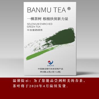 紫阳半亩富硒绿茶(48克)