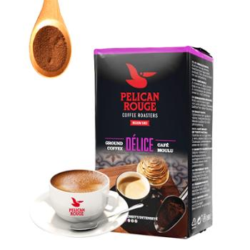 小罐浓荷兰进口现磨咖啡粉250g阿拉比卡红鹈鹕新鲜烘焙