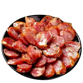 巫姑川味香肠400g 重庆巫溪特产川味农家自制烤辣肠腊肉烟熏腊肠