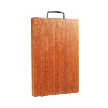美厨加厚天然乌檀木砧板切菜板可剁骨实木案板36*24*2.5cmMCPJ790