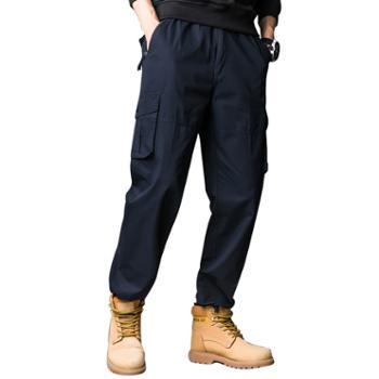多佳男士宽松登山运动工装裤110086