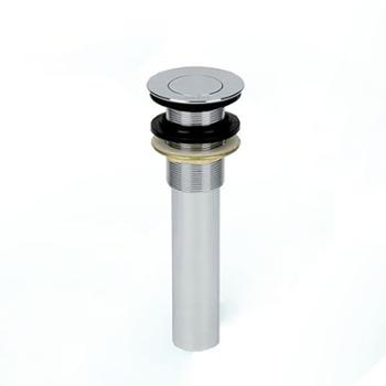 GLLO洁利来全铜翻板面盆下水器