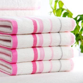 洁丽雅天然纯棉浴巾