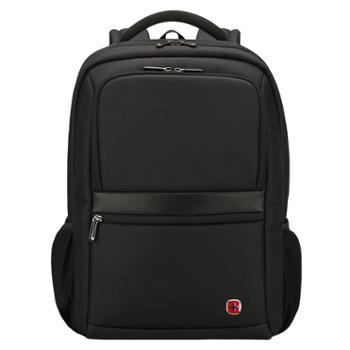 SWISSGEAR/瑞士军刀双肩包书包联想华硕苹果戴尔惠普笔记本电脑包男女款背包SA9528黑色