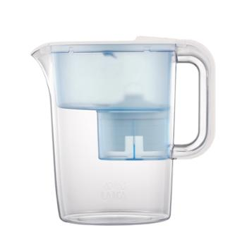 LAICA莱卡西西里滤水壶LA35EN-W椰奶白