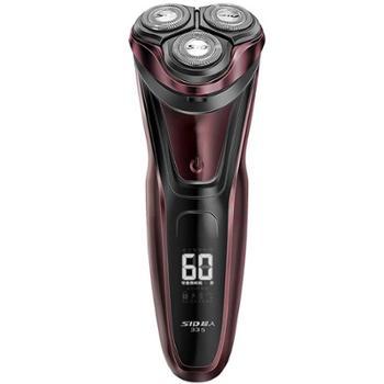 超人(SID)RS335充电式智能剃须刀全身水洗刮胡刀旋转式三头胡须刀RS335