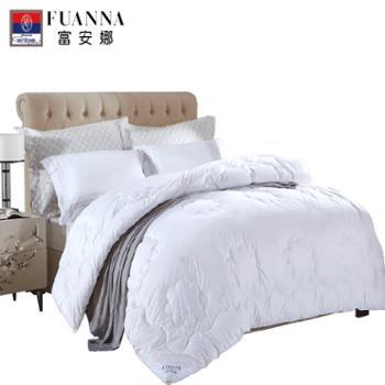 富安娜/FUANNA曼斯特澳洲羊毛被填充:51%澳毛+49%聚酯纤维