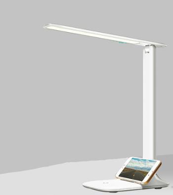保视力LED台灯护眼书桌小学生宿舍儿童学习可充电式插电两用床头