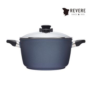 康宁REVERE 锅具 蓝宝石材质带盖不粘深汤锅