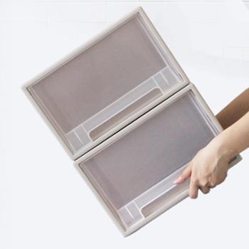 艾多大号32L抽屉式塑料收纳箱2只装