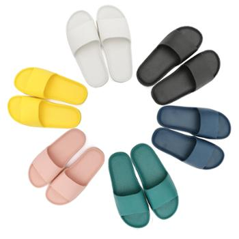 ASFIN 素色超软 夏季凉拖鞋 情侣式凉鞋