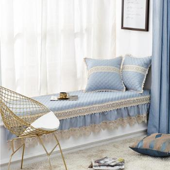 凯诗风尚欧式飘窗垫窗台垫可机洗四季北欧飘窗垫