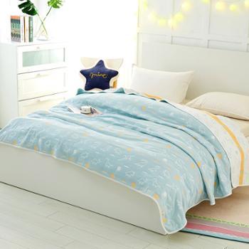 凯诗风尚A类6层纱布盖毯午睡毯空调被多规格可选